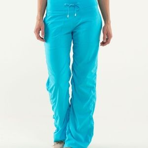 Lululemon Studio Pant - sz 6 Spry Blue